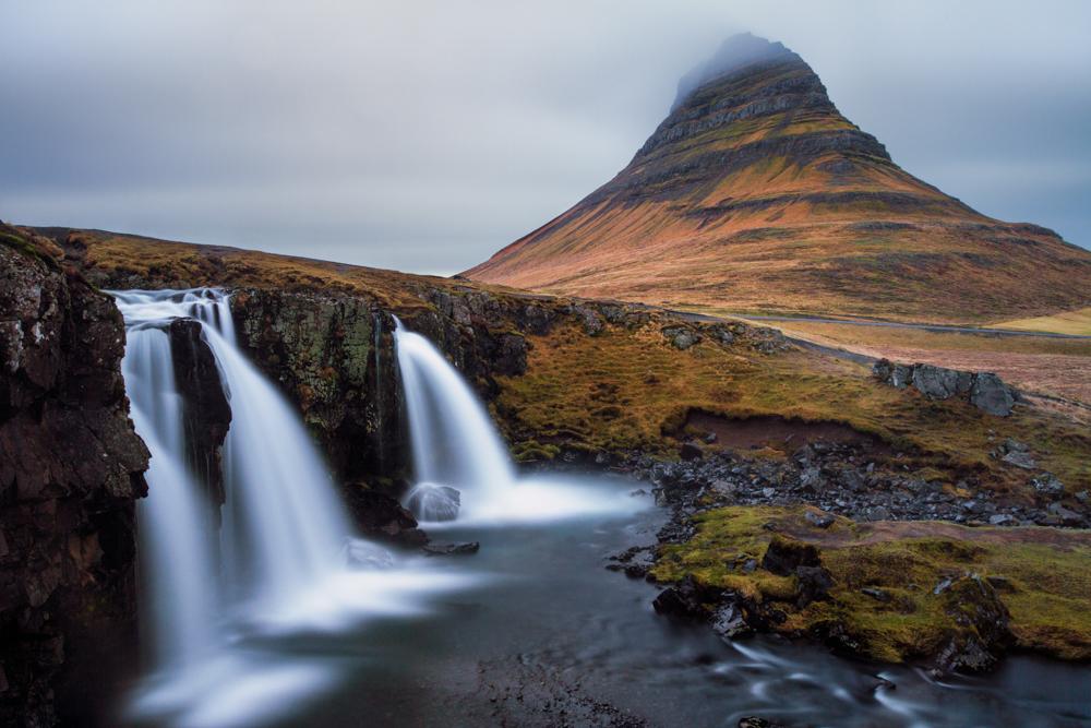 Behind the photo: Kirkjufellsfoss