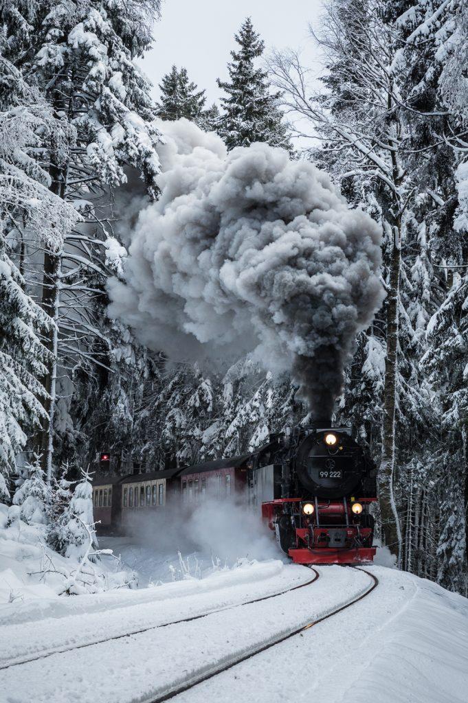 Behind the photo: Der Brockenbahn (With video)