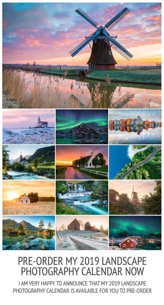2019 Landscape Photography Calendar