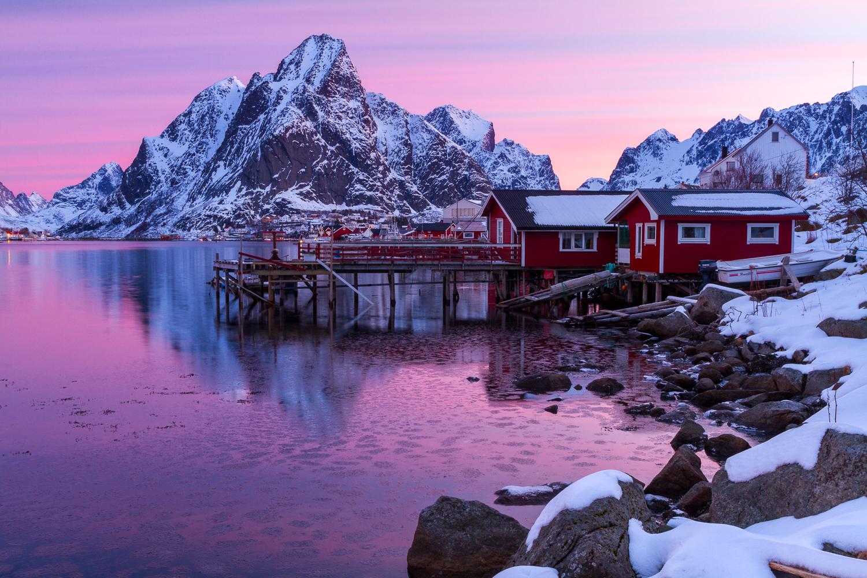 Lofoten in de Winter   Landschapsfotograaf Harmen Piekema