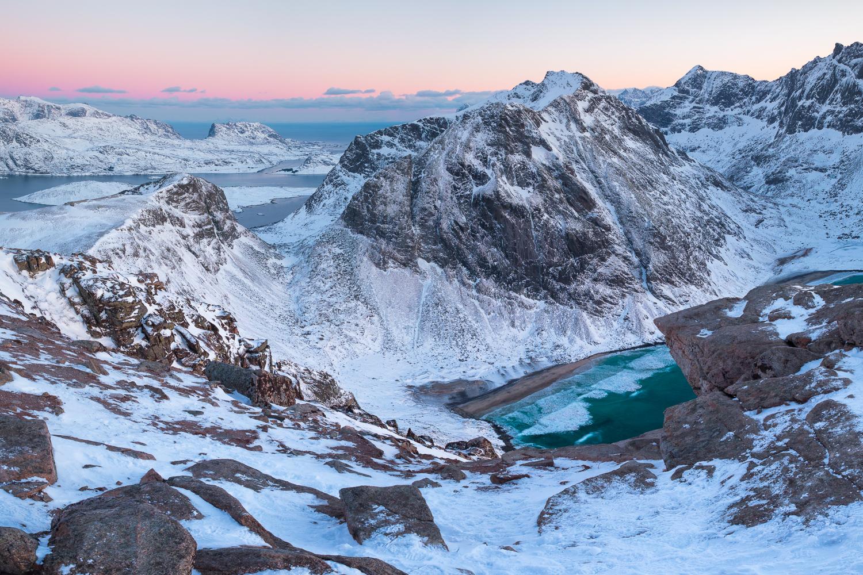 In de bergen op de Lofoten | Landschapsfotograaf Harmen Piekema