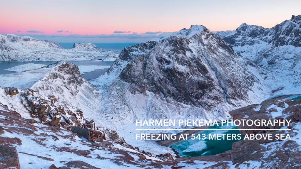 Nieuwe Vlog: Bevriezen op 543 meter boven zee