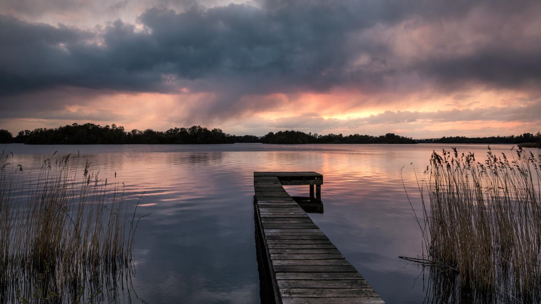 Voorbij trekkende bui   Landschapsfotograaf Harmen Piekema