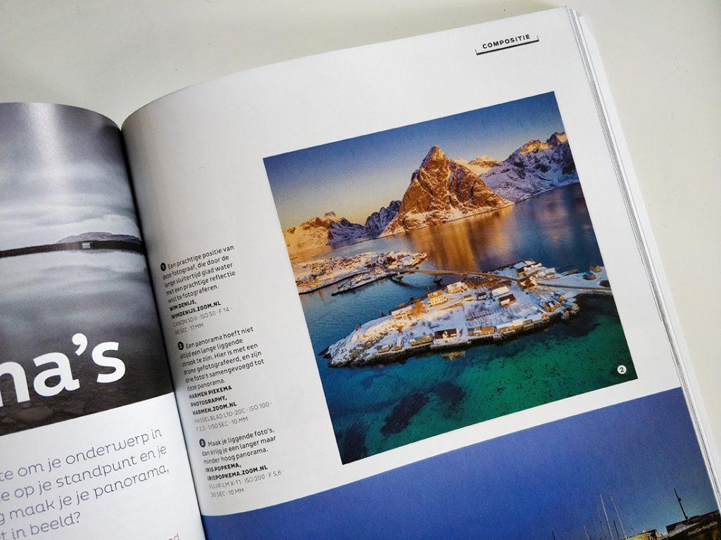 Publicatie in Zoom.nl cursus boek