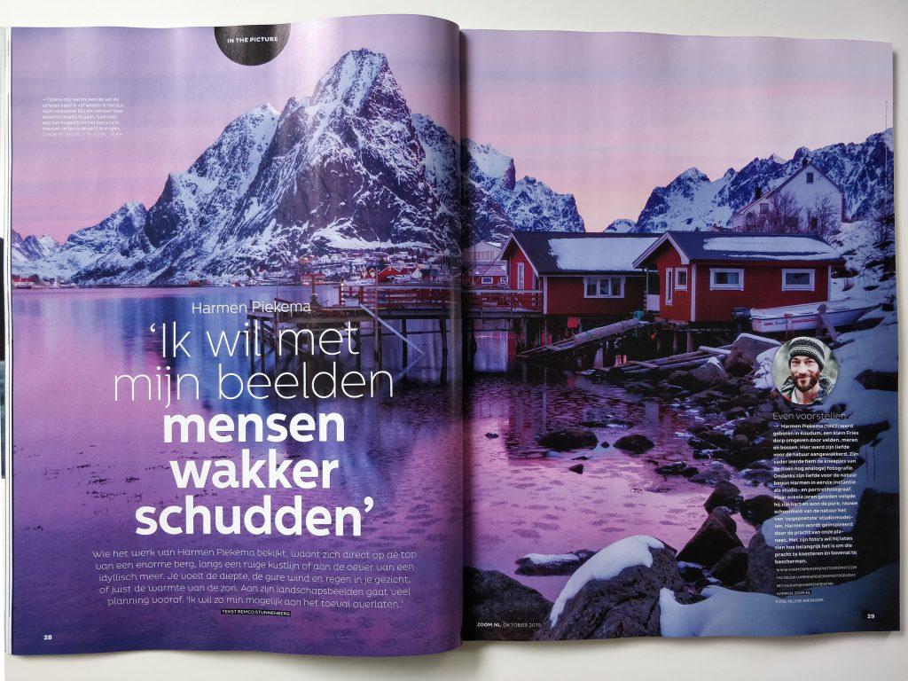 Fantastisch interview in Zoom magazine