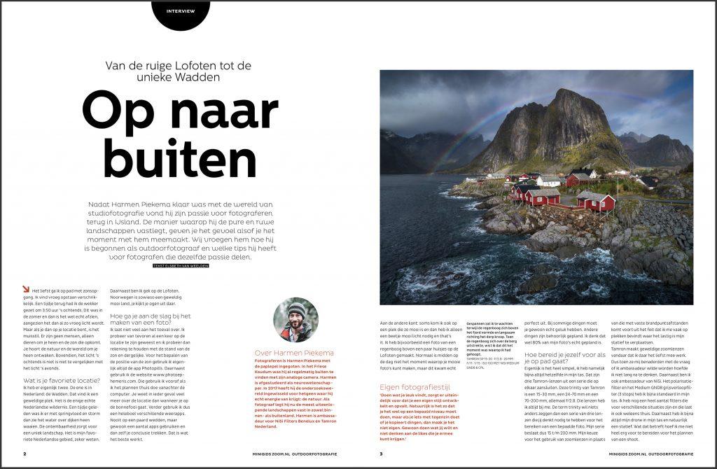 Interview met landschapsfotograaf Harmen Piekema