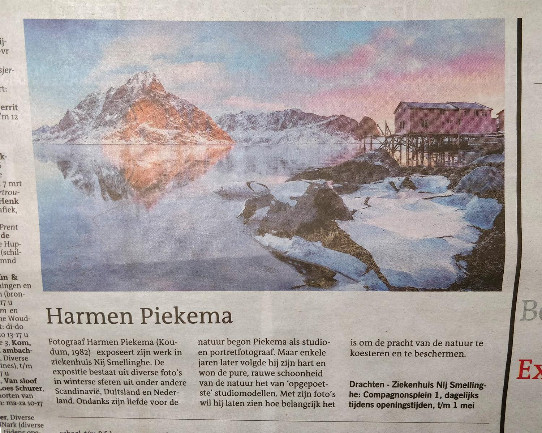 Leeuwarder courant | Landschapsfotograaf Harmen Piekema