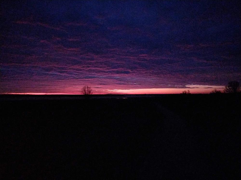 Ruim voor zonsopkomst   Landschapsfotograaf Harmen Piekema