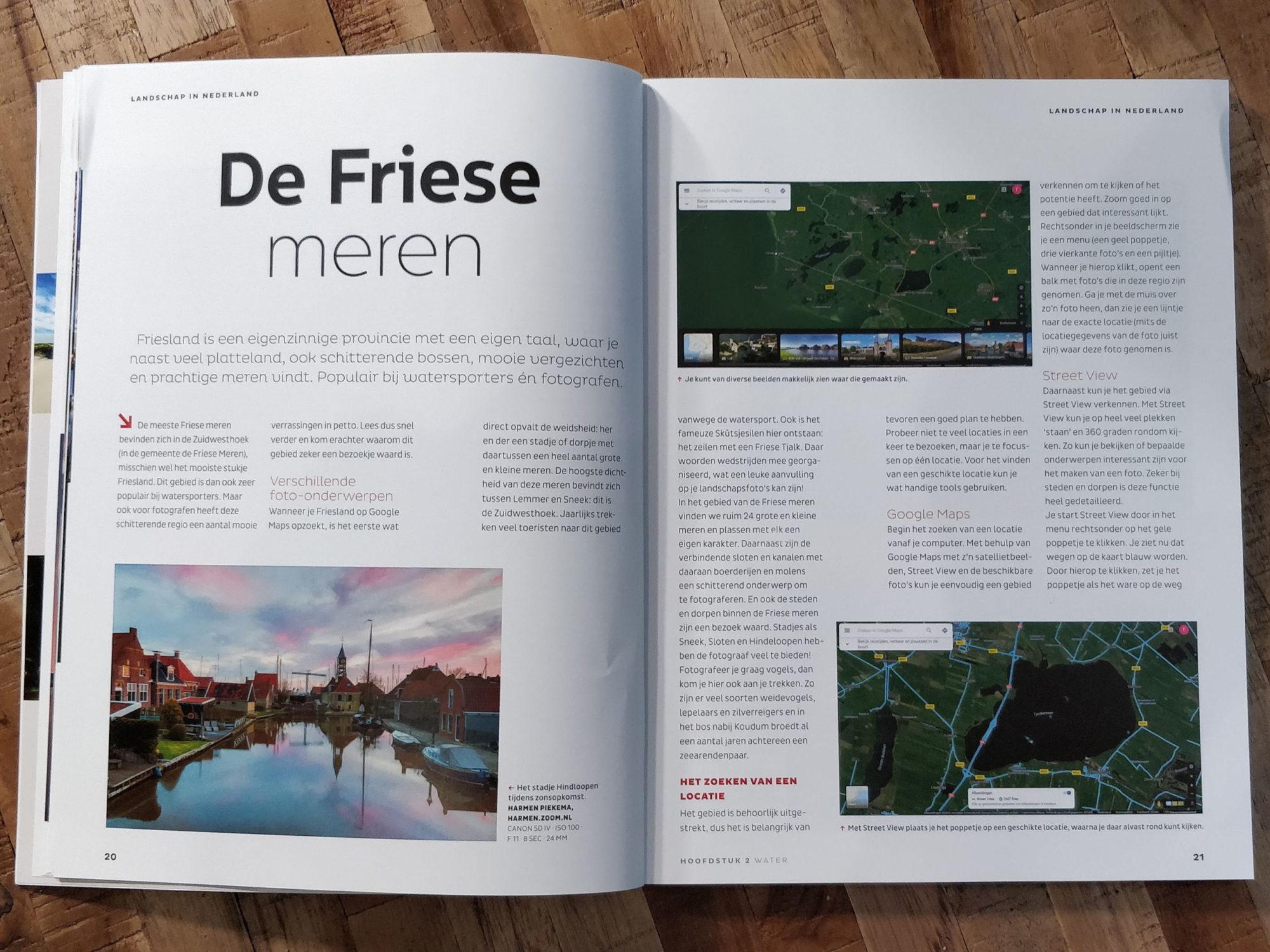 Vier Publicaties | Landschapsfotograaf Harmen Piekema
