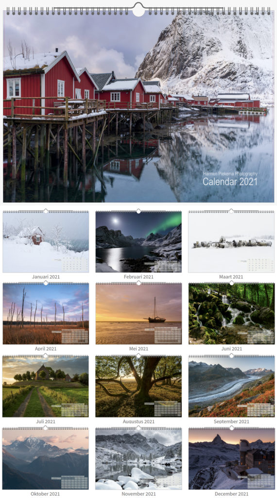Video preview: Landschapsfotografie kalender 2021