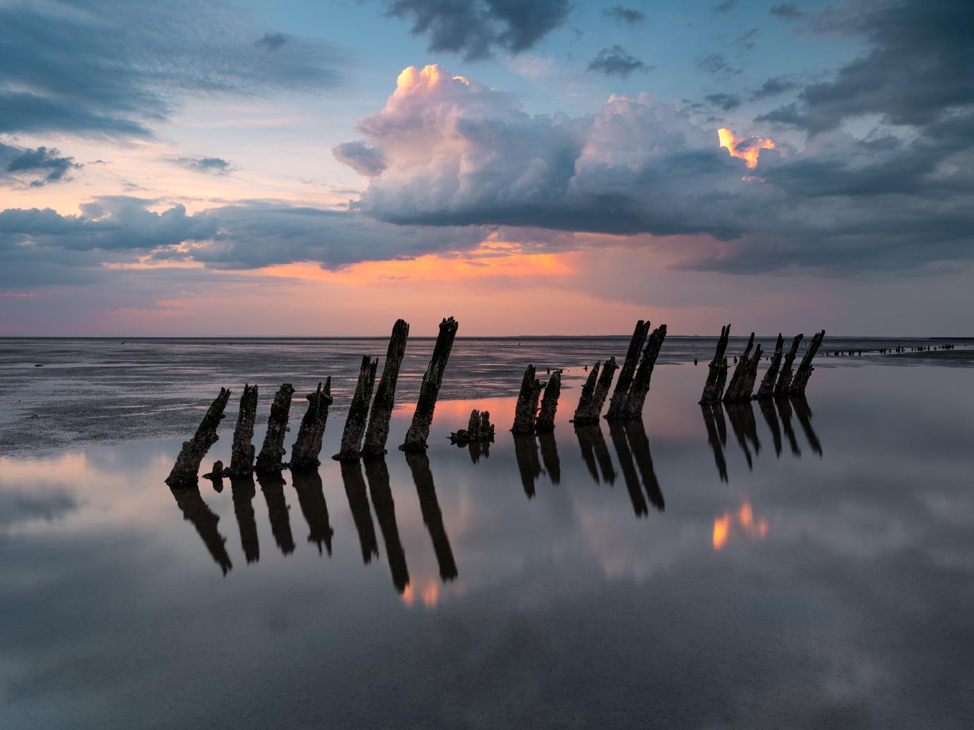 Landschapsfotograaf Harmen Piekema aan de Waddenzee