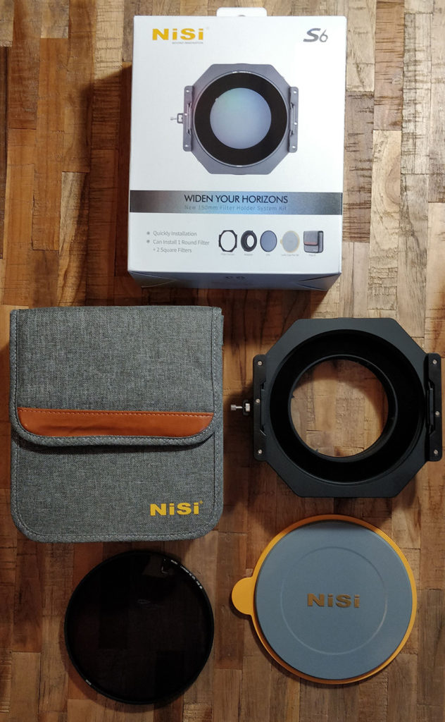 Unboxing Video NiSi S6 landscape kit