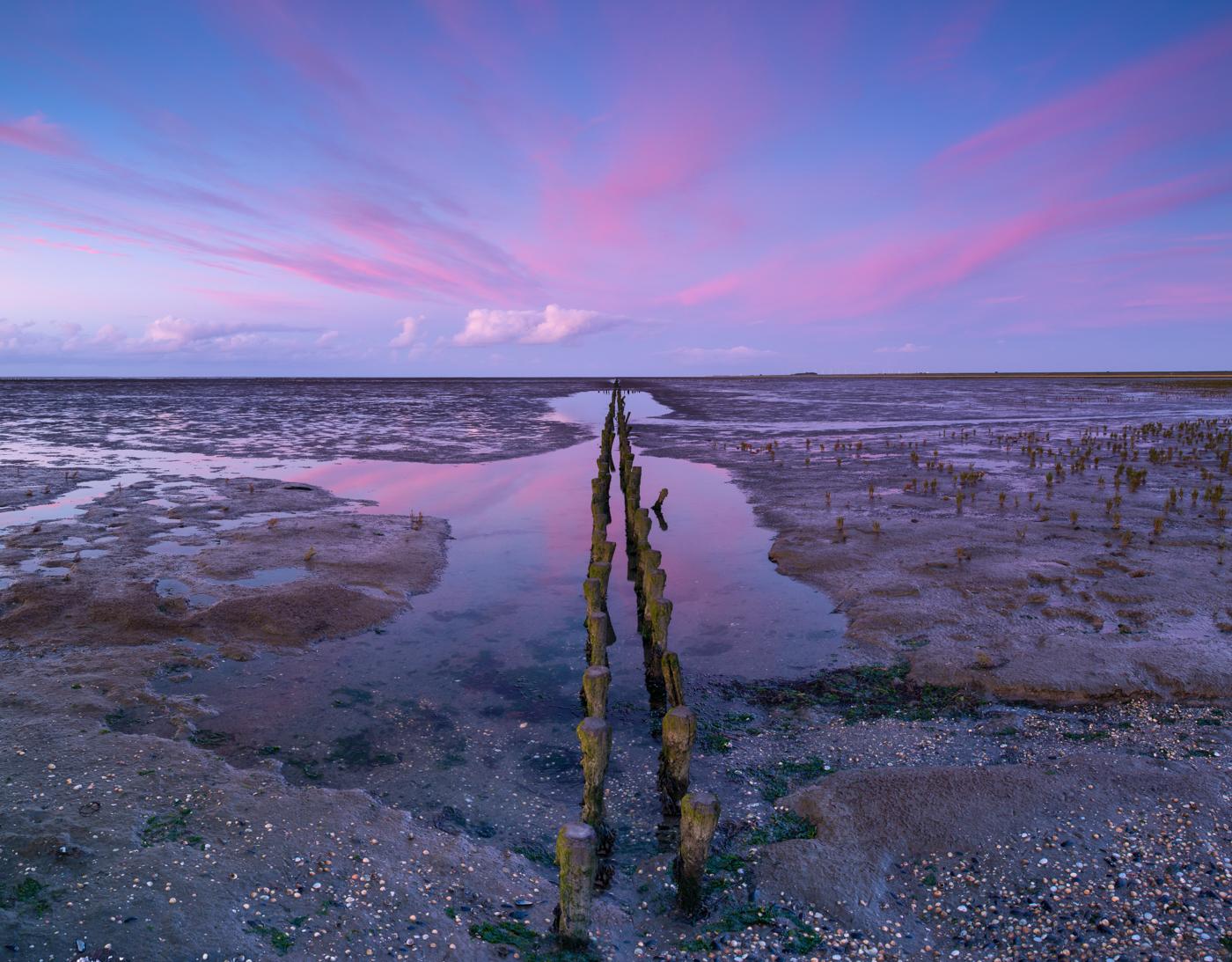 Landschapsfotograaf Harmen Piekema op het Wad
