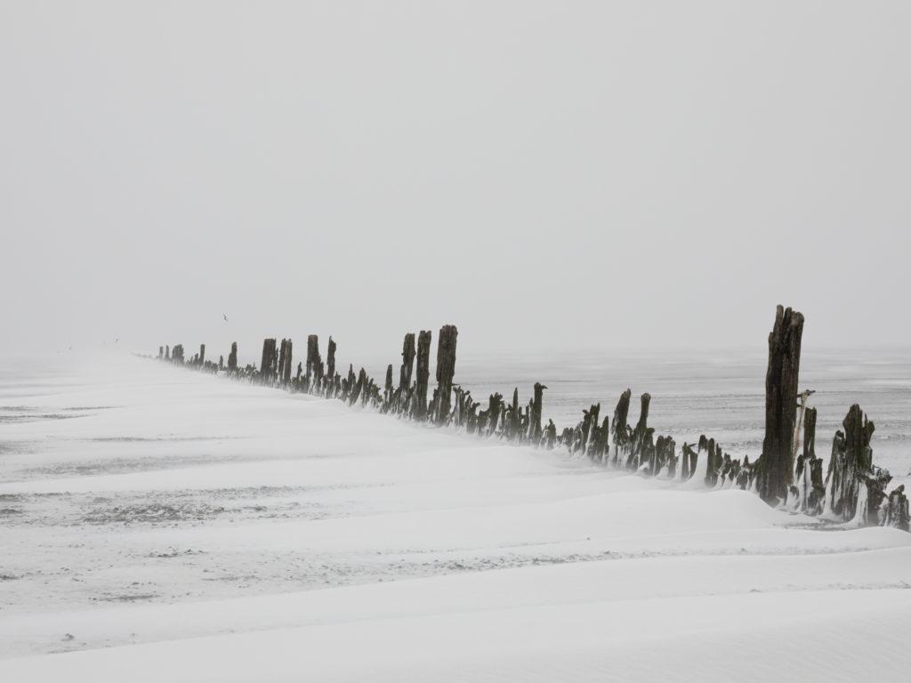 Naar de Wadden in een Sneeuwstorm