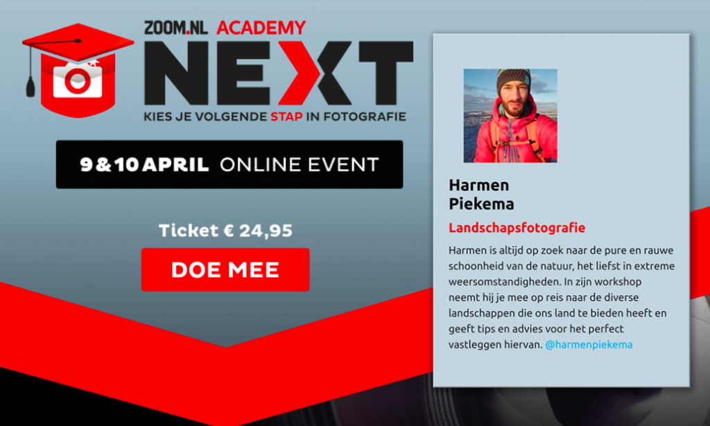 Zoom Academy Next met Harmen Piekema
