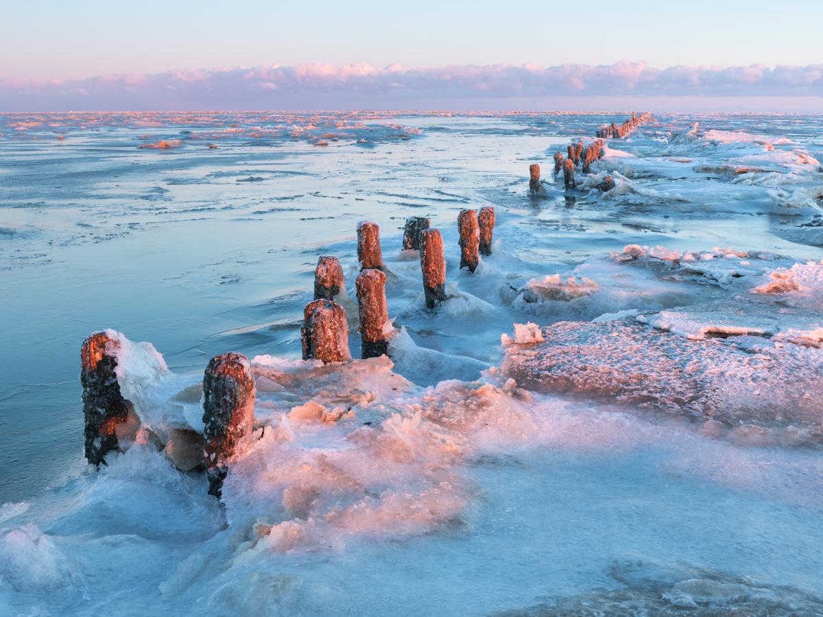 Bevroren Wad | Landschapsfotograaf Harmen Piekema