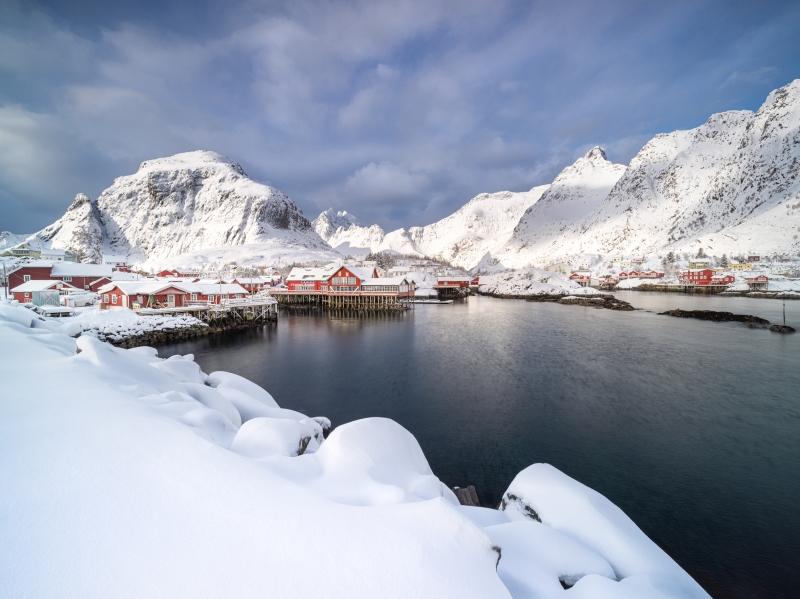 Fresh Snow door Groninger landschapsfotograaf Harmen Piekema