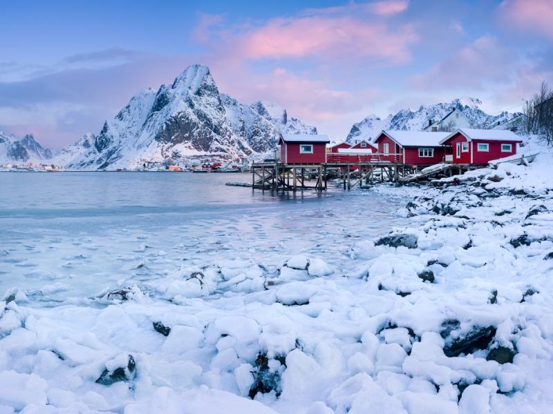 Icy morning door Groninger landschapsfotograaf Harmen Piekema