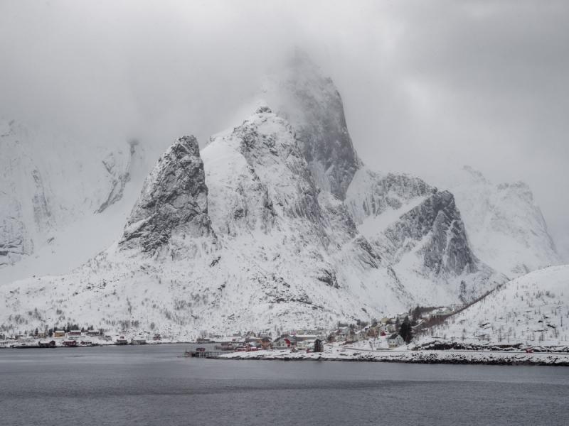 The Blizzard door Groninger landschapsfotograaf Harmen Piekema