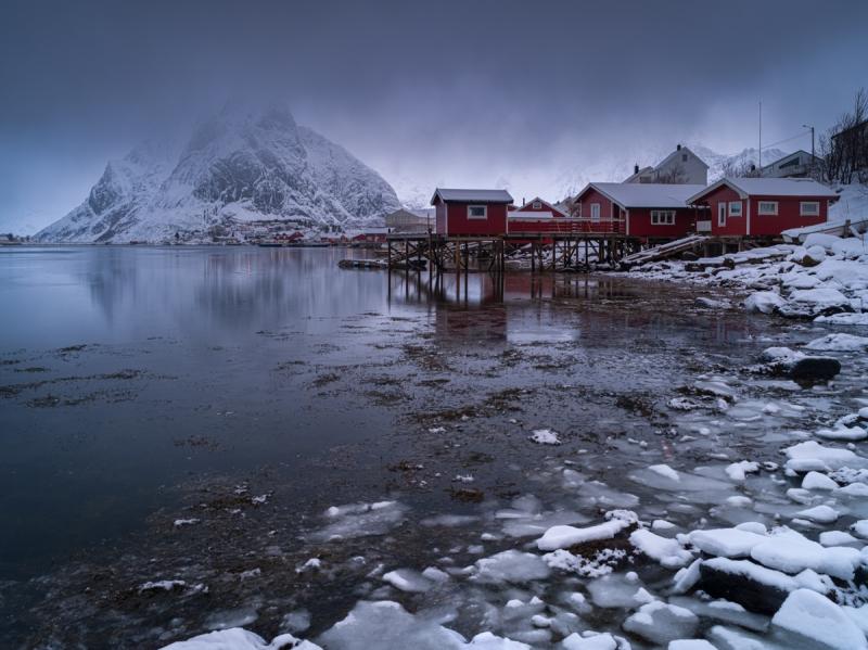 Wet Snow door Groninger landschapsfotograaf Harmen Piekema