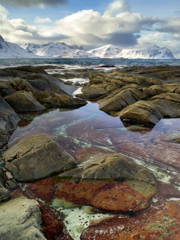 Tide Pool door Groninger landschapsfotograaf Harmen Piekema