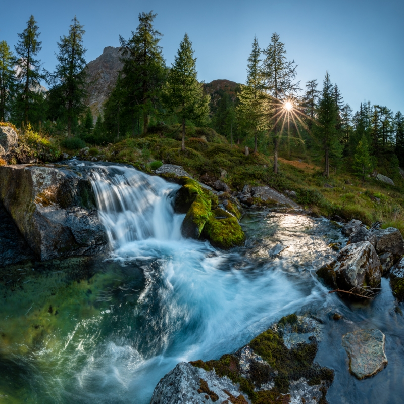 Switzerland Waterfall 1