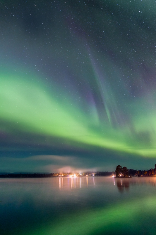 Het Noorderlicht door Groninger landschapsfotograaf Harmen Piekema