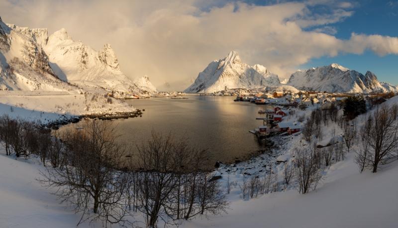 Incoming Blizzard door Groninger landschapsfotograaf Harmen Piekema