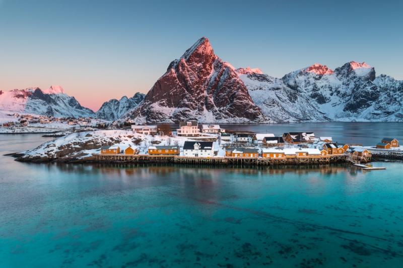 Sunrise door Groninger landschapsfotograaf Harmen Piekema