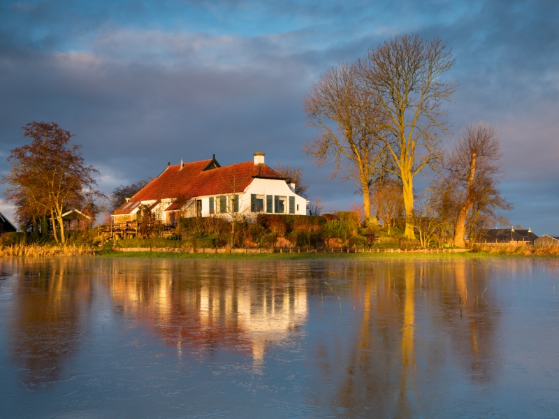 Flooded door Groninger landschapsfotograaf Harmen Piekema
