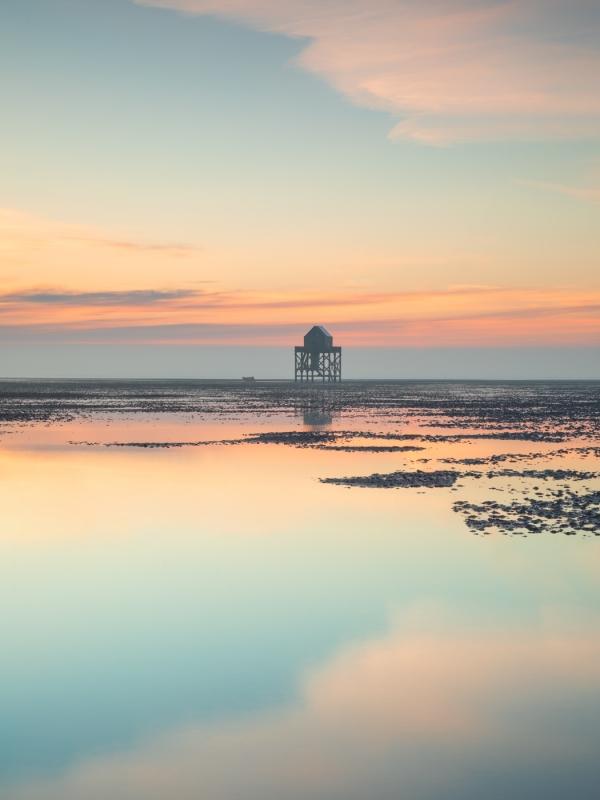 Groninger landschapsfotograaf Harmen Piekema op het Wad
