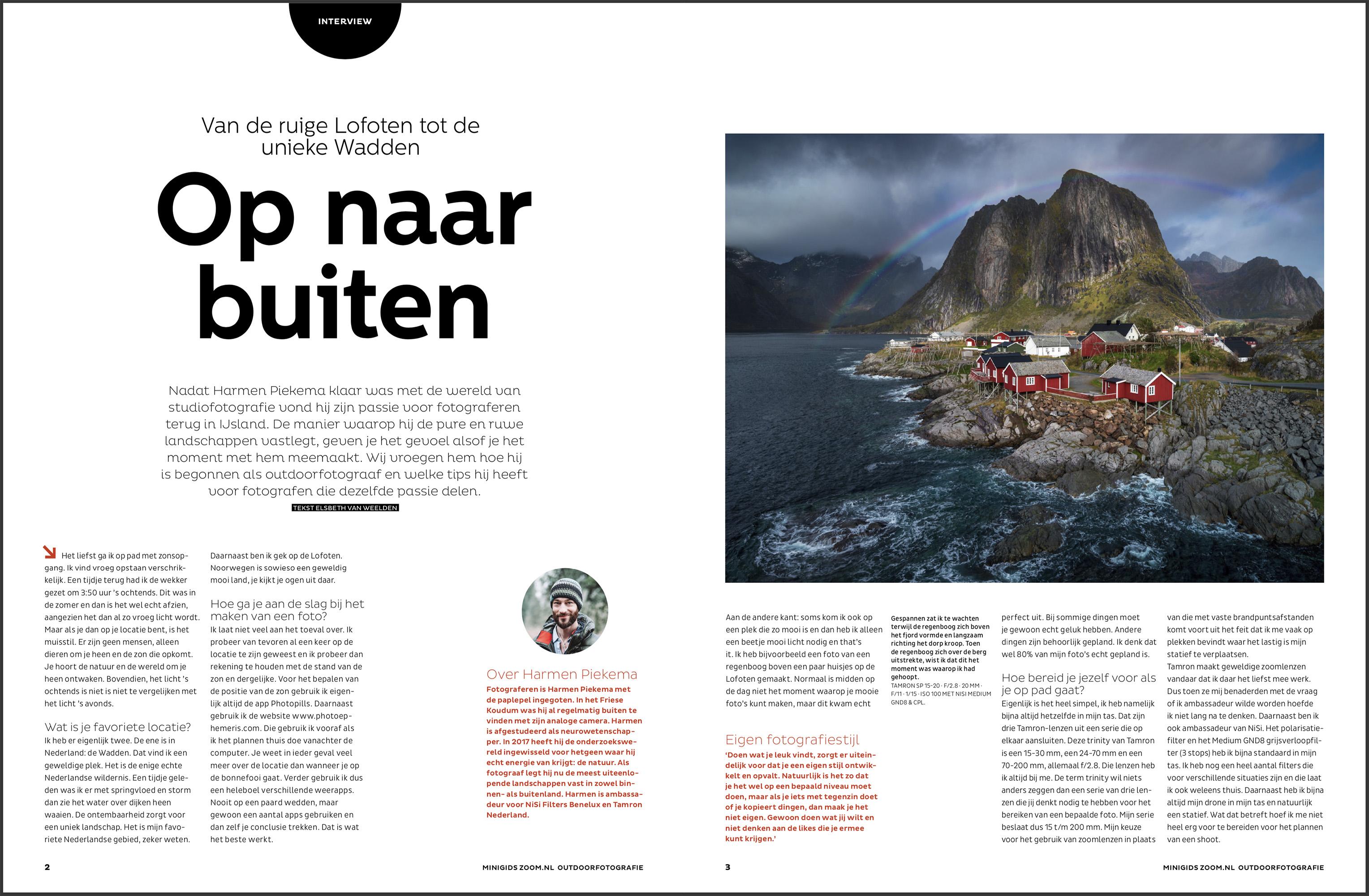 Interview met Groninger landschapsfotograaf Harmen Piekema
